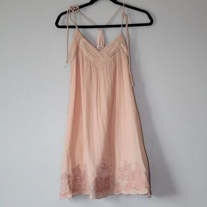 Freelance cotton pink dress Size Large